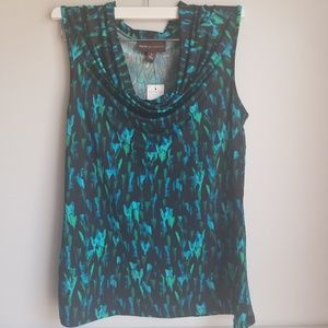 NWT Dana Buchman small tank top blouse new
